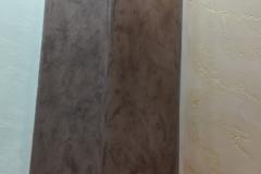 DI LUCE элегантная зеркальная венецианская штукатурка на колонне.Особая формула материала позволяет получить максимально зеркальную поверхность,не прибегая к дополнительной защите воском.