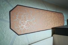 Стилистический колорит оранжевых деталей ,деская комната