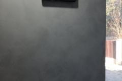 Матовая венецианская штукатурка Satinato в коридоре,износостойкая,с характерной текстурой,колеруется светлые и интенсивные оттенки