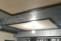 два цвета ДиПерла потолок