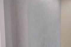 Декоративное покрытие Элеганза на водной основе с эффектом муарового шелка.
