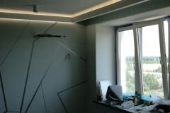 Новые решения использования ярусного расположения источников света.Позволяет сохранить эффект матового сукна на потолке краски Samtex 3 ,трехмерное пространство комнаты,визуально подчеркнуть глубину и уют