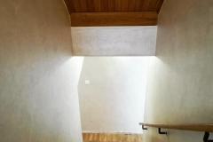Утонченная текстура и жемчужное сияние на лестнице,напоминающее нежнейший шелк.Eleganza с мягкими шелковыми переливами и перламутровым сиянием