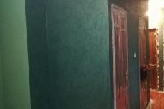 Имитация полированного малахита.Современная версия венецианской штукатурки Ди Перла имеет многомерный вид с текстурированной,слегка приподнятой поверхностью,полученной в результате двух слоев