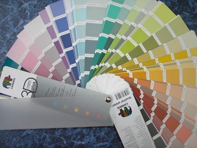 Цветовой веер Caparol 3D Plus