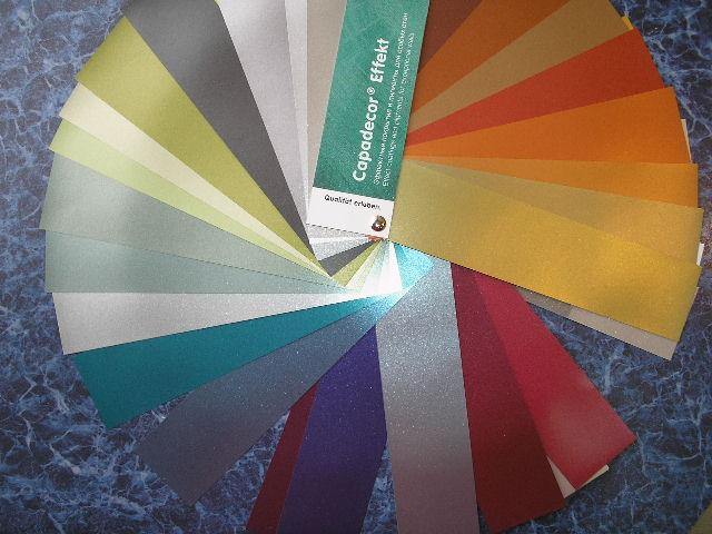 Цветовой веер Capadecor Effekt