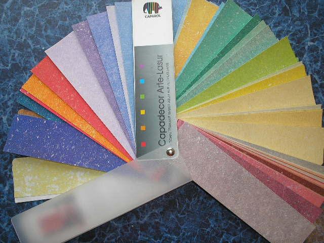 Цветовой веер Capadecor Arte-Lasur