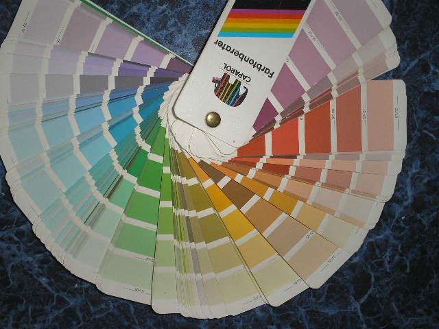 Цветовой веер Capamix