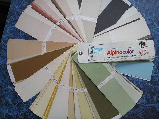 Цветовой веер Alpinacolor