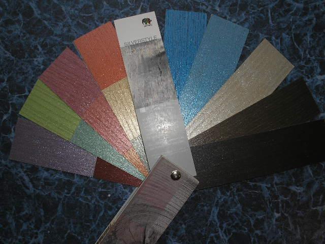 Цветовой веер Silverstyle Greywood - высококачественное оформление деревянных поверхностей