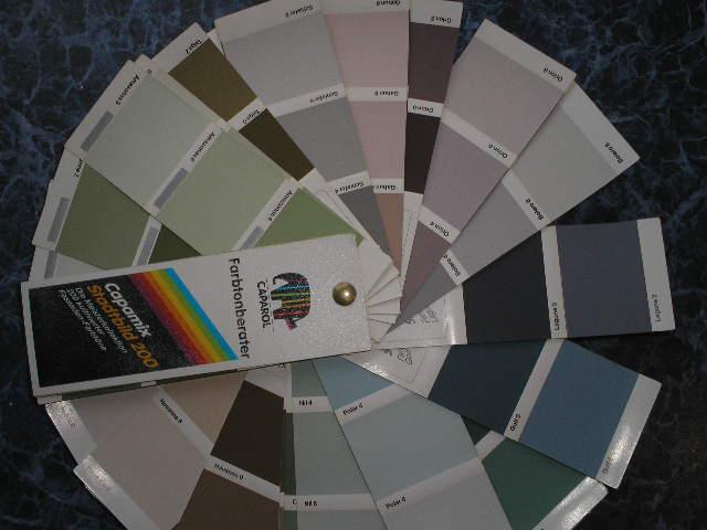 Цветовой веер Capamix Stadtbild200