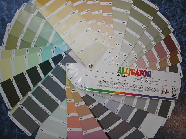 Цветовой веер Alligator 3000