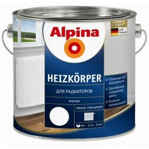 Alpina_Альпина Водоразбавляемая эмаль для радиаторов_Mogilen